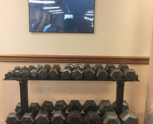 Exercise Room(weights)